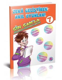 Koza Yayınları 7. Sınıf Cin Can'la Eğlenerek Öğrenme Zamanı