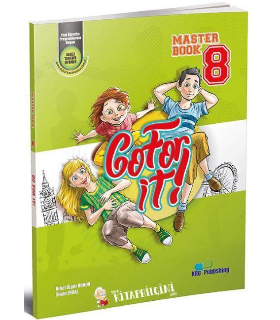 KRC Publishing 8. Sınıf Go For It! - Master Book