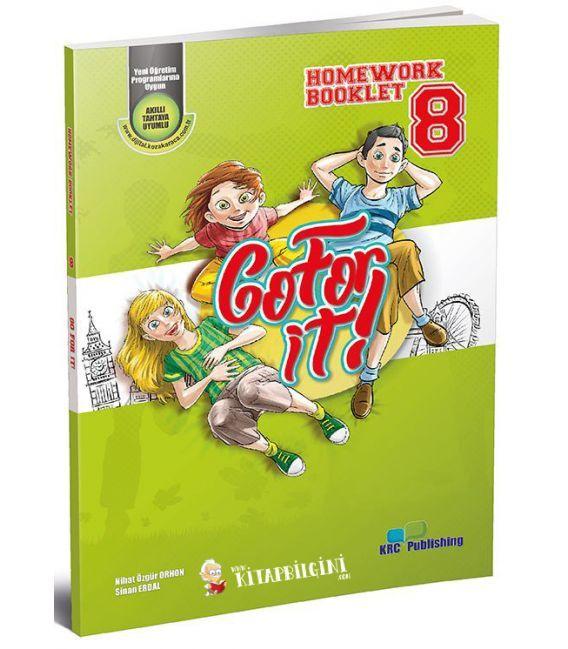 KRC Publishing 8. Sınıf Go For It! - Homework Booklet