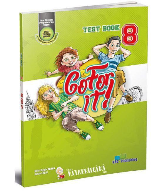 KRC Publishing 8. Sınıf Go For It! - Test Book