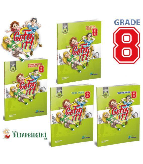 KRC Publishing 8. Sınıf Go For It! - Grade 8 Set (4 Kitap)
