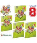 KRC Publishing 8. Sınıf Go For It! - Grade 8 Set (4 Kitap)