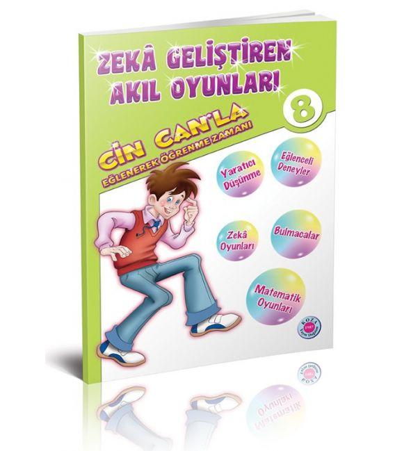 Koza Yayınları 8. Sınıf Cin Can'la Eğlenerek Öğrenme Zamanı