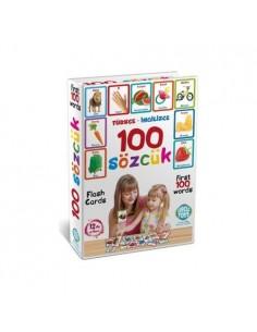 Circle Toys Türkçe İngilizce 100 Sözcük Kartları