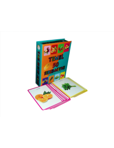 Yuka Kids  Temel 50 Meyve Sebze Kartları