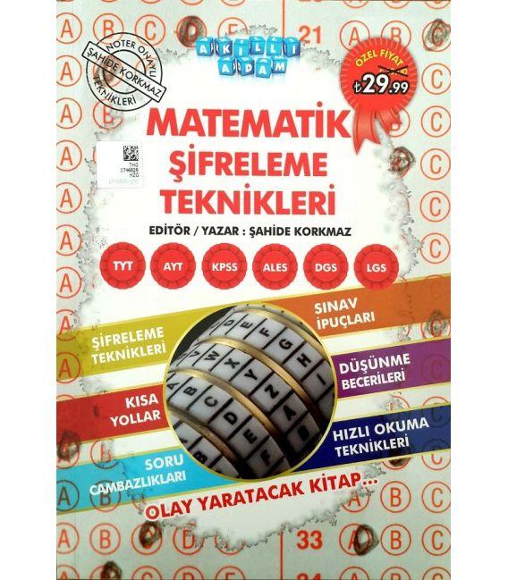 Akıllı Adam TYT AYT KPSS ALES DGS LGS Matematik Şifreleme Teknikleri