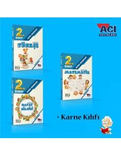 Açı Yayınları 2. Sınıf Soru Bankası Yaz Tatil Seti