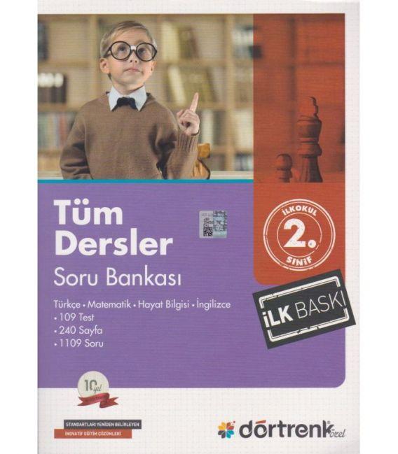 Dörtrenk Yayınları 2.Sınıf Tüm Dersler Yaz Tatil Seti