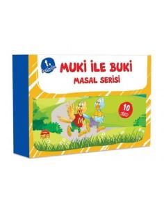 Muki ile Buki Masal Serisi (10 Kitap)  - Martı Yayınları