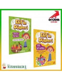 Erdem Yayınları Elif'in Düşleri Etkinlik Kitabı Seti (2 Kitap)