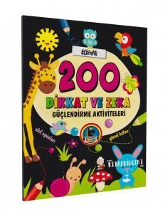 Karatay Yayınları 200 Dikkat ve Zeka Güçlendirme Aktiviteleri