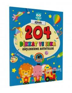 Karatay Yayınları 204 Dikkat ve Zeka Güçlendirme Aktiviteleri