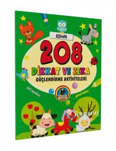 Karatay Yayınları 208 Dikkat ve Zeka Güçlendirme Aktiviteleri