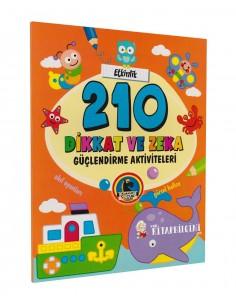 Karatay Yayınları 210 Dikkat ve Zeka Güçlendirme Aktiviteleri