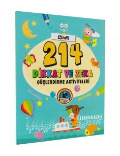 Karatay Yayınları 214 Dikkat ve Zeka Güçlendirme Aktiviteleri