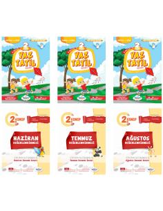 Öğretmen Evde 2. Sınıf Yaz Tatil Kitabı Seti (2019) (Hediyeli)
