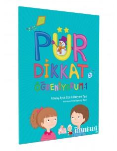 Nesil Çocuk Yayınları Pür Dikkat Öğreniyorum-1