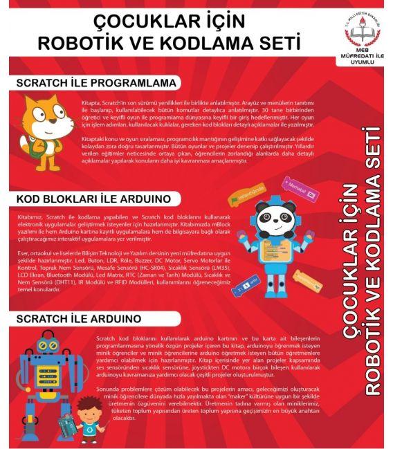 Çocuklar Için Robotik ve Kodlama Seti