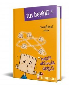 Nesil Yayınları Tuş Beyinli 4 - Başım Aklımda Değil!