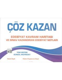 Çöz Kazan AYT Edebiyat Kavram Haritası ve Notları