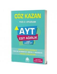 Çöz Kazan Yayınları AYT Eşit Ağırlık 5 Deneme