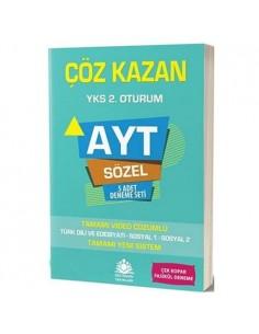 Çöz Kazan Yayınları AYT Sözel 5 Deneme