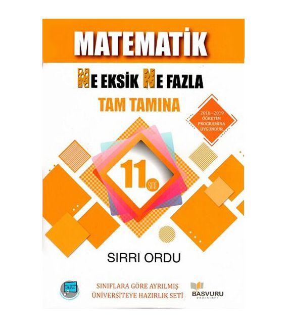 Başvuru Yayınları 10. Sınıf Matematik Ne Eksik Ne Fazla Soru Bankası