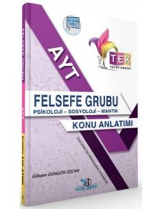 Yayın Denizi Yayınları AYT Felsefe Grubu TEK Serisi Konu Anlatımlı Cep