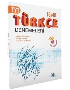 Yayın Denizi TYT Türkçe 15 x 40 Deneme