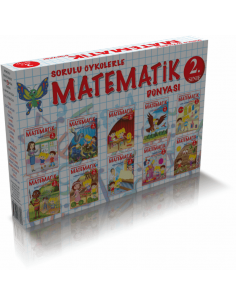 Özyürek Yayınları 2.Sınıf Sorulu Öykülerle Matematik Dünyası (10 Kitap)