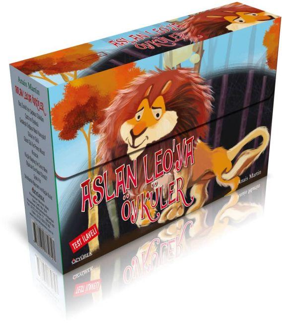 Özyürek Yayınları 3.Sınıf Aslan Leo'ya Öyküler (10 Kitap)