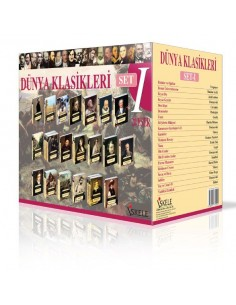 İskele Yayınları Dünya Klasikleri Set-1 (20 Kitap)