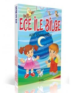 Özyürek Yayınları Ece ile Bilge Hikaye Seti  (10 Kitap)