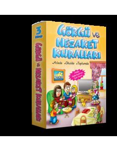 Damla Yayınları Görgü ve Nezaket Kuralları Dizisi (3 Kitap)