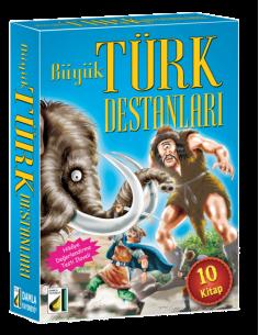 Damla Yayınları Büyük Türk Destanları (10 Kitap)