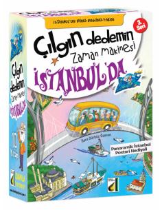Çılgın Dedemin Zaman Makinesi - 3: Istanbul'da ( 10 Kitap )