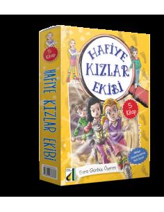 Damla Yayınları Hafiye Kızlar Ekibi -1 (5 Kitap)