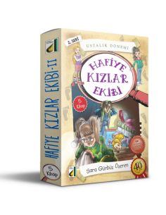 Damla Yayınları Hafiye Kızlar Ekibi -2( 5 Kitap )