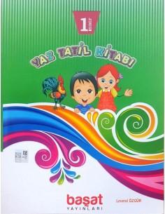 Başat Yayınları 1. Sınıf Yaz Tatil Kitabı