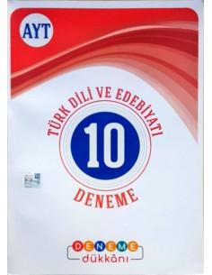 Deneme Dükkanı AYT Türk Dili ve Edebiyatı 10 Deneme
