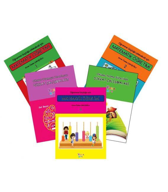 Yuka Kids Öğrenme Güçlüğü için Matematik Öğretimi (Disleksi Seti)