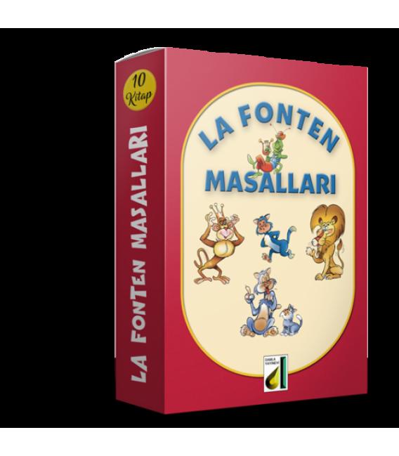 Damla Yayınları La Fonten Masalları ( 10 Kitap )