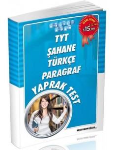 Akıllı Adam TYT Şahane Türkçe Paragraf Yaprak Test