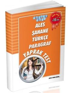 Akıllı Adam ALES Şahane Türkçe Paragraf Yaprak Test