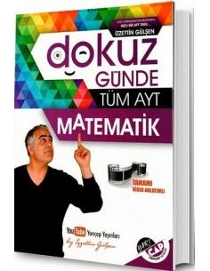 Yarı Çap Yayınları Dokuz Günde Tüm AYT Soru Bankası