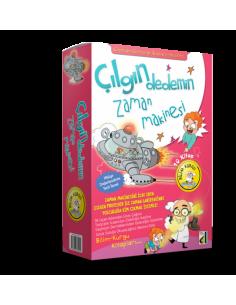 Damla Yayınları Çılgın Dedemin Zaman Makinesi - 1 İcatlar ve Keşifler (10 Kitap)