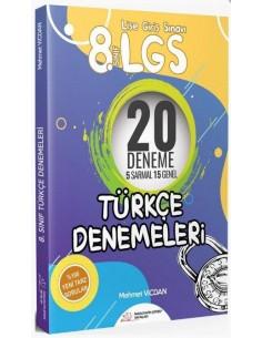 Paragrafın Şifresi 8.Sınıf LGS Türkçe 20 Deneme Sınavı