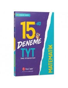 FenCebir Yayınları TYT Matematik 15x40 Deneme Sınavı
