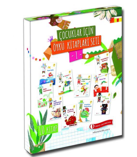 Odtü Yayınları Ödüllü Çocuk Kitapları Seti -1- (10 Kitap)