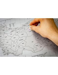 Kazınabilir Türkiye Haritası (70x100 cm) - Gürbüz Yayınları
